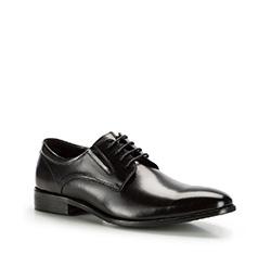 Buty męskie, czarny, 86-M-924-1-43, Zdjęcie 1
