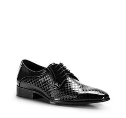 Buty męskie, czarny, 86-M-925-1-44, Zdjęcie 1