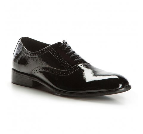 d040132d620d4 Eleganckie buty męskie ze skóry lakierowanej | WITTCHEN | 86-M-926