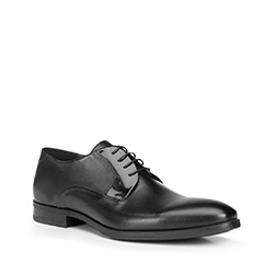Men's shoes, black, 87-M-601-1-40, Photo 1