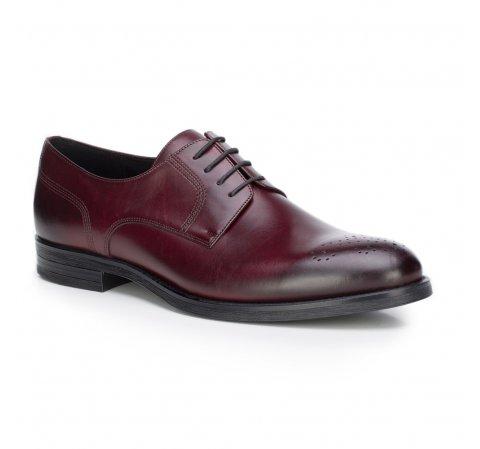 Buty męskie, bordowy, 87-M-602-2-39, Zdjęcie 1