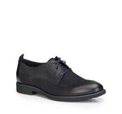 Buty męskie, czarny, 87-M-605-1-39, Zdjęcie 1