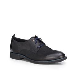 Men's shoes, black, 87-M-605-1-42, Photo 1