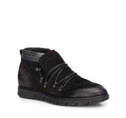 Men's shoes, black, 87-M-606-1-40, Photo 1
