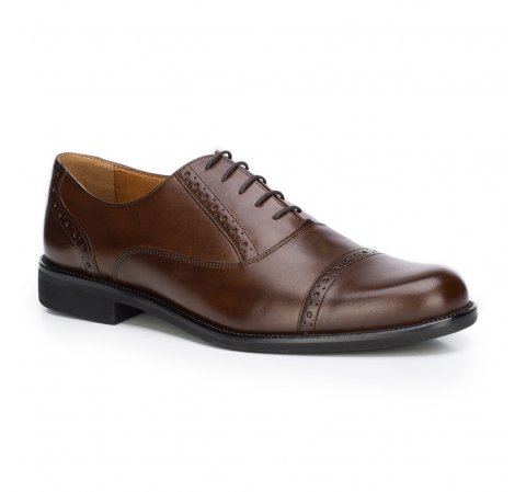 Buty męskie, brązowy, 87-M-700-4-39, Zdjęcie 1