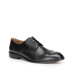 Buty męskie, czarny, 87-M-701-1-39, Zdjęcie 1