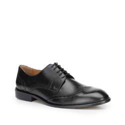 Buty męskie, czarny, 87-M-701-1-45, Zdjęcie 1