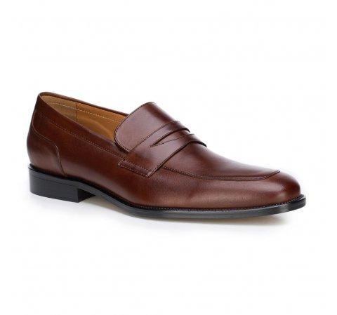 Men's shoes, brown, 87-M-704-1-44, Photo 1