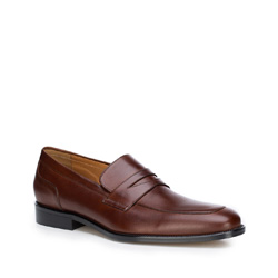 Buty męskie, brązowy, 87-M-704-4-42, Zdjęcie 1