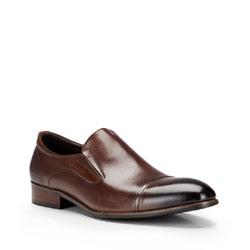 Buty męskie, brązowy, 87-M-800-4-39, Zdjęcie 1