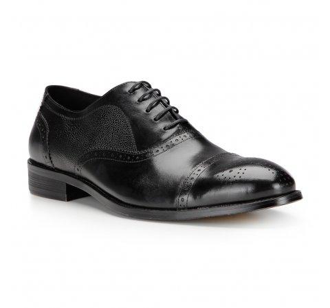 Buty męskie, czarny, 87-M-801-1-39, Zdjęcie 1