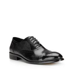 Buty męskie, czarny, 87-M-801-1-45, Zdjęcie 1