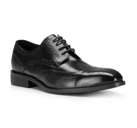 Buty męskie, czarny, 87-M-802-1-44, Zdjęcie 1