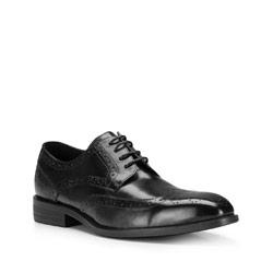 Buty męskie, czarny, 87-M-802-1-43, Zdjęcie 1