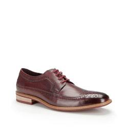 Buty męskie, bordowy, 87-M-803-2-45, Zdjęcie 1
