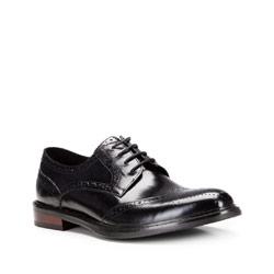 Buty męskie, czarny, 87-M-804-1-39, Zdjęcie 1