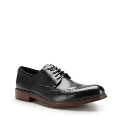 Buty męskie, czarny, 87-M-805-1-41, Zdjęcie 1