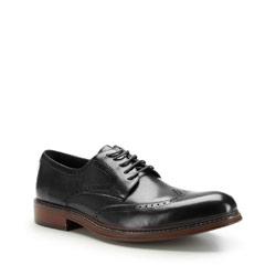 Buty męskie, czarny, 87-M-805-1-43, Zdjęcie 1