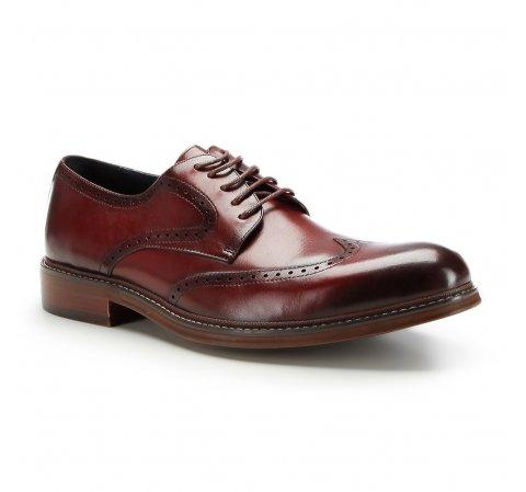 Buty męskie, bordowy, 87-M-805-2-39, Zdjęcie 1