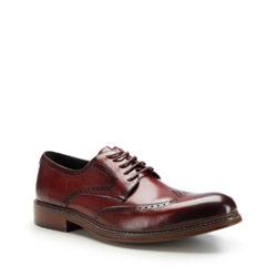 Buty męskie, bordowy, 87-M-805-2-45, Zdjęcie 1