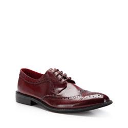 Buty męskie, bordowy, 87-M-806-2-45, Zdjęcie 1