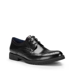 Buty męskie, czarny, 87-M-807-1-40, Zdjęcie 1