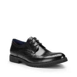 Buty męskie, czarny, 87-M-807-1-43, Zdjęcie 1