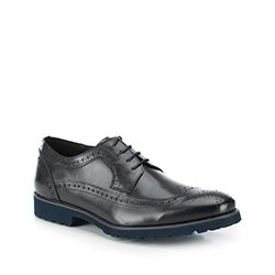 Buty męskie, czarny, 87-M-808-1-42, Zdjęcie 1