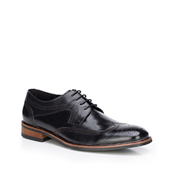Buty męskie, czarny, 87-M-809-1-42, Zdjęcie 1