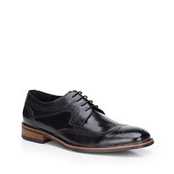 Buty męskie, czarny, 87-M-809-1-45, Zdjęcie 1