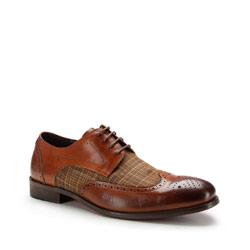 Buty męskie, brązowy, 87-M-810-5-41, Zdjęcie 1