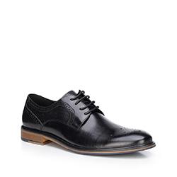 Buty męskie, czarny, 87-M-811-1-43, Zdjęcie 1