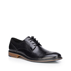 Buty męskie, czarny, 87-M-811-1-44, Zdjęcie 1