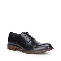 Buty męskie, czarny, 87-M-812-1-39, Zdjęcie 1