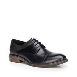 Buty męskie, czarny, 87-M-813-1-42, Zdjęcie 1