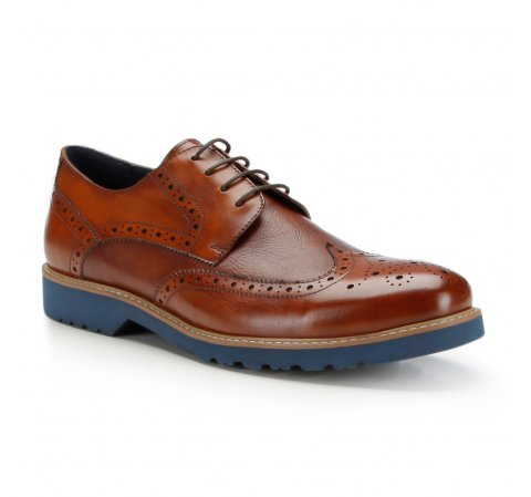 Buty męskie, Brązowy, 87-M-814-7-42, Zdjęcie 1