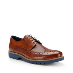 Buty męskie, brązowy, 87-M-814-5-40, Zdjęcie 1