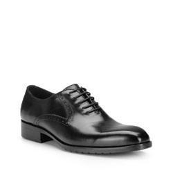 Buty męskie, czarny, 87-M-815-1-40, Zdjęcie 1
