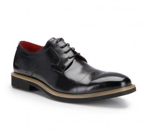 Buty męskie, czarny, 87-M-816-1-39, Zdjęcie 1