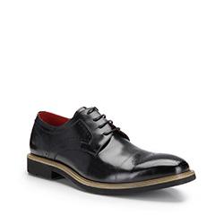 Buty męski, czarny, 87-M-816-1-45, Zdjęcie 1