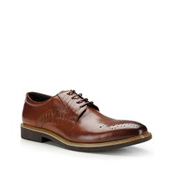 Buty męskie, brązowy, 87-M-817-5-39, Zdjęcie 1