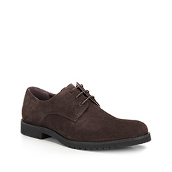 Buty męskie, brązowy, 87-M-818-4-43, Zdjęcie 1