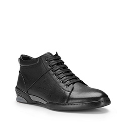 Buty męskie, czarny, 87-M-819-1-42, Zdjęcie 1