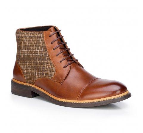 Buty męskie, brązowy, 87-M-821-5-39, Zdjęcie 1