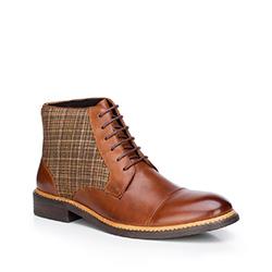 Buty męskie, brązowy, 87-M-821-5-41, Zdjęcie 1