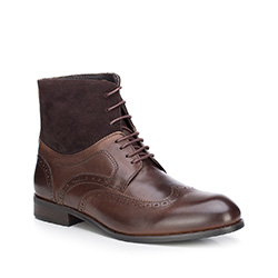 Buty męskie, Brązowy, 87-M-822-4-45, Zdjęcie 1