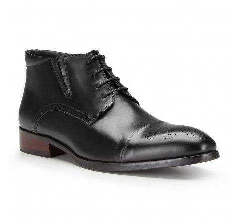 Buty męskie, czarny, 87-M-823-1-39, Zdjęcie 1