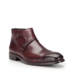 Buty męskie, bordowy, 87-M-824-2-43, Zdjęcie 1