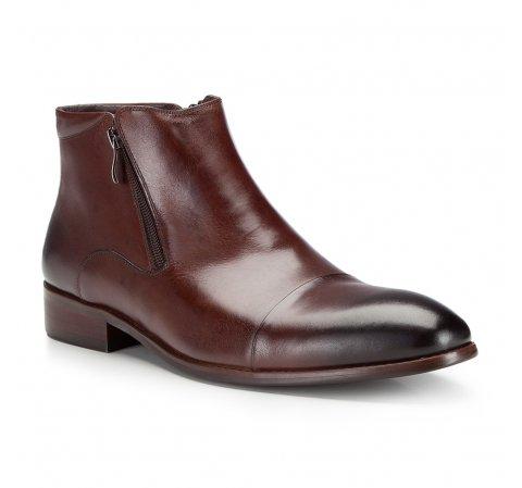 Buty męskie, brązowy, 87-M-826-4-39, Zdjęcie 1