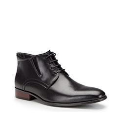 Buty męskie, czarny, 87-M-828-1-45, Zdjęcie 1